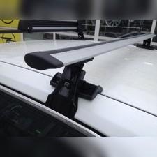 """Багажник на крышу с аэродинамическими поперечинами Dodge Charger 2006 - 2010 Седан, модель """"Крыло"""""""