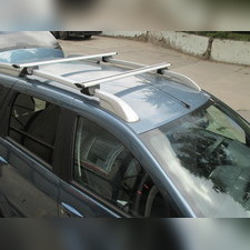 """Аэродинамические поперечины на рейлинги Dodge Caravan 1996-2000 Минивен """"Favorit Крыло"""""""