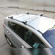 """Багажник на интегрированные рейлинги """"Integra Аэро"""" Seat Leon 2020-нв Универсал"""