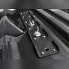 """Бокс на крышу аэродинамический серый матовый """"Turino 1"""" (одностороннее открытие)"""