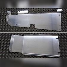 Защита топливопровода и адсорбера (алюминий) 4мм