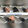 Поперечины на рейлинги с замком Turmaline V1 (аэродинамические, черные)