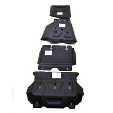 Защита картера, кпп, рулевых тяг и раздатки Toyota Hilux 2015 - нв (сталь 2 мм)