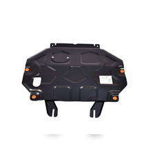 Защита картера двигателя и кпп Mitsubishi Outlander 2015 - нв (сталь 2 мм)