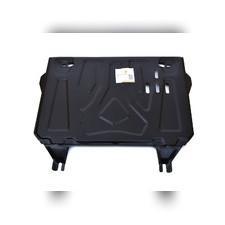 Защита картера двигателя и кпп Toyota RAV 4 2010 - 2012 (Сталь 2 мм)