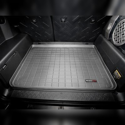 Коврик багажника серый