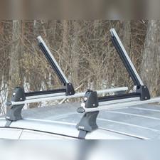 Крепление для перевозки лыж и сноубордов, 3-х пар лыж или 2-х сноубордов (комплект)