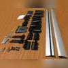 Поперечины на интегрированные рейлинги с замком (аэродинамические серебро)