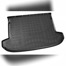 Коврик багажника для Kia Sportage (черные) 2016-нв