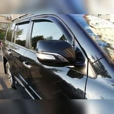 Накладки на зеркала Toyota Land Cruiser 200 executive black