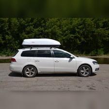 """Автобокс на крышу, белый """"Turino Sport"""" аэродинамический (двустороннее открытие) 480 л 210х80х45 см"""