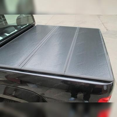 Крышка пикапа трехсекционная,алюминиевая (цвет чёрный)
