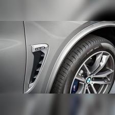 Жабры в крылья BMW X5 F15 M Performance в хром исполнении (комплект)
