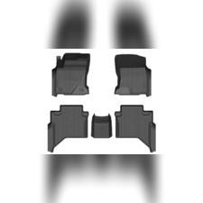 Коврики резиновые в салон 3D PREMIUM (комплект)