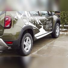 Расширители арок Renault Duster 2015 - 2018 (с 3М скотчем)