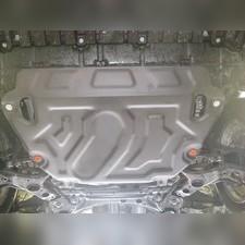 Защита картера двигателя и кпп Toyota RAV 4 2015-2019(Алюминий 4 мм)
