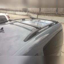 Рейлинги алюминиевые на Volkswagen Caddy 2010-2020 (черные)