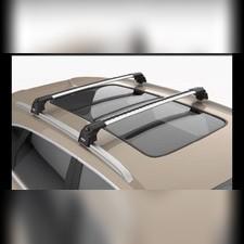 """Багажник аэродинамический Subaru Outback 2014-нв на интегрированные рейлинги с замком, модель""""Air 2"""""""
