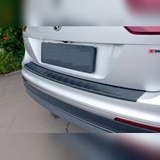 Накладка на задний бампер Volkswagen Tiguan 2016-