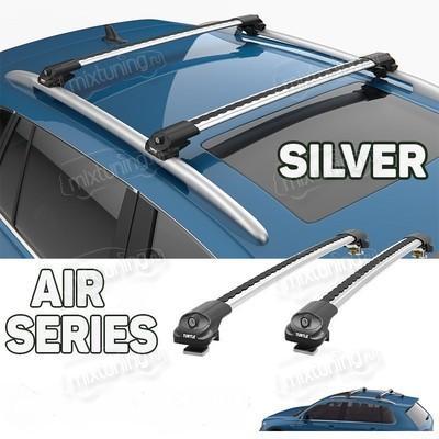 """Багажник аэродинамический на рейлинги с замком, модель """"Air 1"""""""