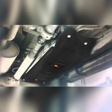 Защита бака Toyota Hilux 2011 - 2015 (сталь 2 мм)
