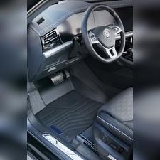 """Ковры салона Volkswagen Touareg 2018 - нв, """"3D Lux"""", аналог ковров WeatherTech (США)"""
