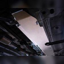 Защита топливопровода (алюминий) 4мм