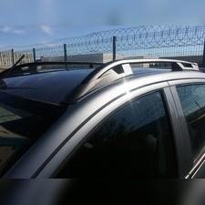 "Рейлинги на Mitsubishi L200 2015-, модель ""Falcon Black"" без задней поперечины"