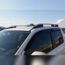 "Рейлинги на Mitsubishi L200 2015-, модель ""Falcon Silver"" без задней поперечины"