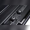 """Бокс на крышу, серый """"Turino Sport"""" аэродинамический (одностороннее открытие) 480 л 210х81х45 см"""