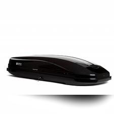 Автобокс Magnum Lux 420 черный металлик (двустороннее открытие 1990х740х420 мм) 420 л