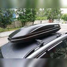 """Бокс на крышу аэродинамический черный """"Altai"""" (одностороннее открытие, габариты 178х71х38 см) 345 л"""