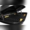 Автобокс Magnum Lux 390 черный металлик (двустороннее открытие 185х84х42 см) 390 л
