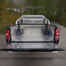 Защитный алюминиевый вкладыш в кузов автомобиля (комплект).