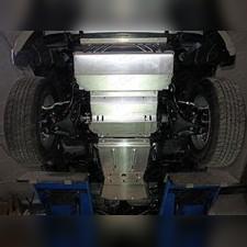 Комплект защиты (алюминий) 4мм (радиатор, картер, кпп, рк, бак)
