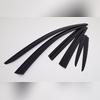 Дефлекторы, ветровики окон Nissan Murano 2015 - нв комплект из 6-ти частей (темные)