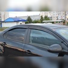 Дефлекторы окон (темные), для Mercedes Benz E-klasse Coupe