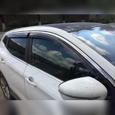 Дефлекторы окон с хромированной полосой (темные), Тип кузова седан