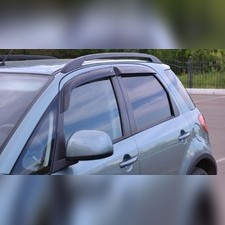 Дефлекторы окон (темные), для 5-ти дверной модели хэтчбек