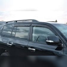 Дефлекторы окон (темные), для Toyota Tundra II Double Cab