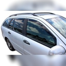 Дефлекторы, ветровики окон вставные (дымчатные), на кузов универсал