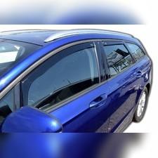 Дефлекторы, ветровики окон вставные (дымчатные), на кузов внедорожник 3d/5d (передние)