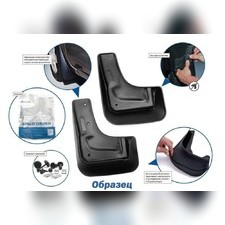 Брызговики задние Chevrolet Orlando 2011 - нв для кузова минивен (optimum) 2 шт