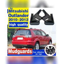 Брызговики Mitsubishi Outlander XL 2010 - 2012 (optimum) 4 шт
