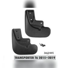 Брызговики задние Volkswagen Transporter 2016 - нв (optimum) 2 шт