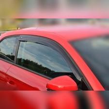 Дефлекторы окон (темные), для кузова седан