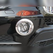 Хромированные накладки на противотуманные фары BMW X5 E70 2010 - 2013
