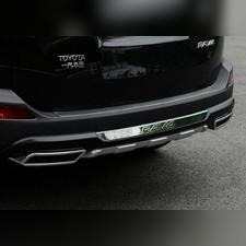 Накладка заднего бампера Toyota RAV 4 IV (CA40) 2012 - 2015