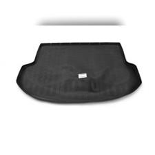 Коврик в багажник (черный) для Hyundai Santa Fe (DM) (2012-2018)