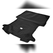 Коврик в багажник (черный) для VAZ Largus (BO) (2012-) (фургон)